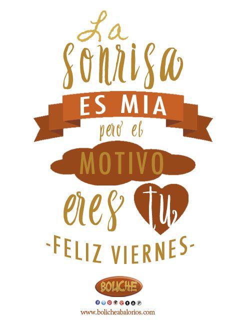 Frases de feliz viernes mi amor